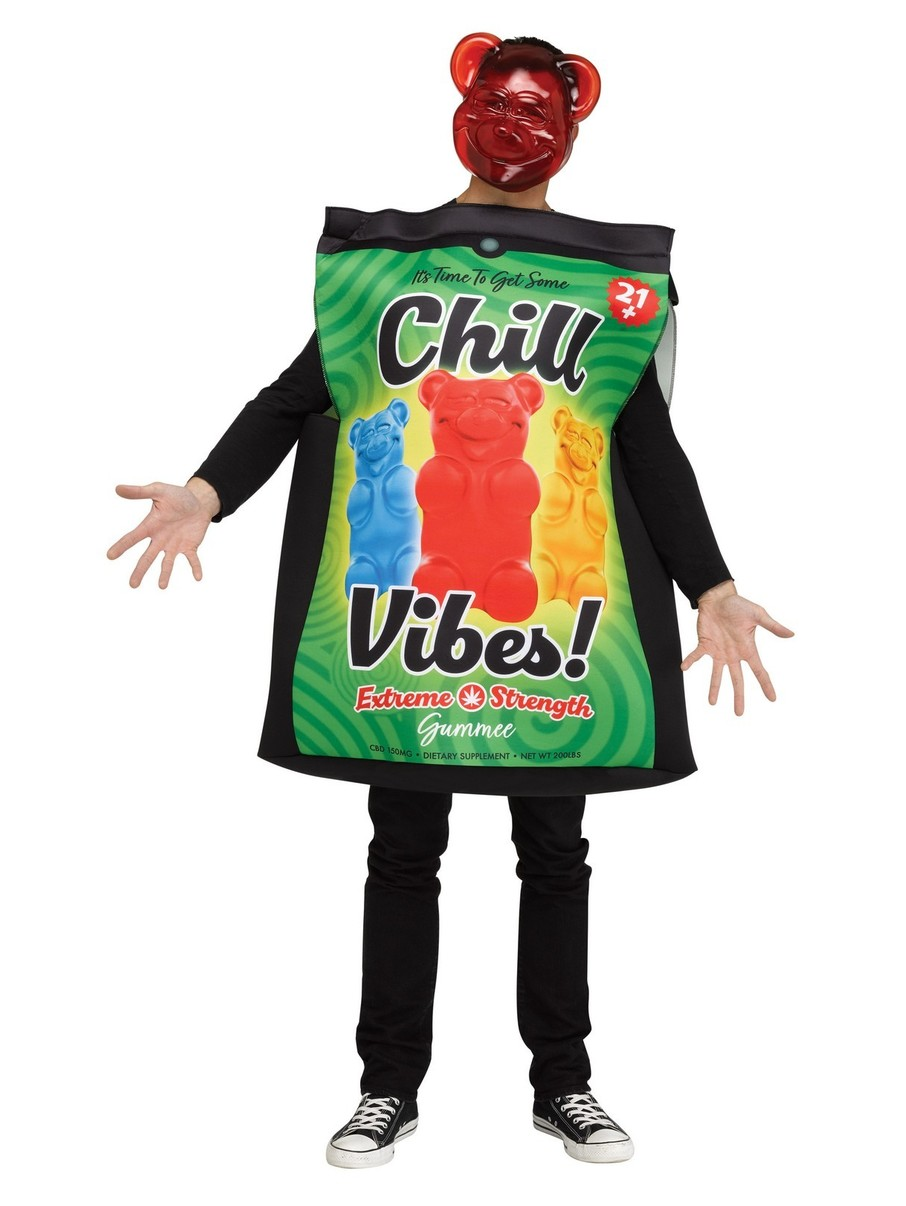 View larger image of Cannabis Candy Costume for Men