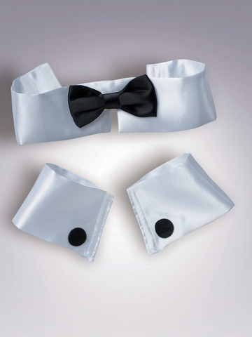 Collar, Cuff And Tie Set