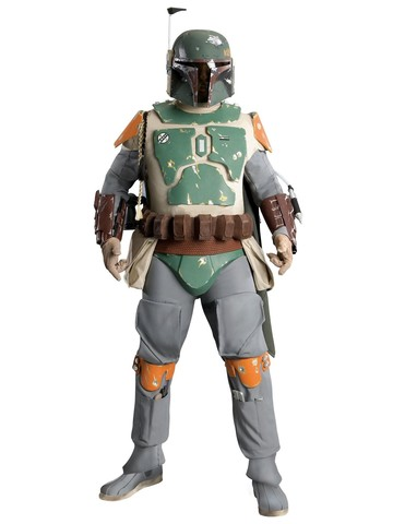 Mens Collectors Supreme Edition Boba Fett Costume