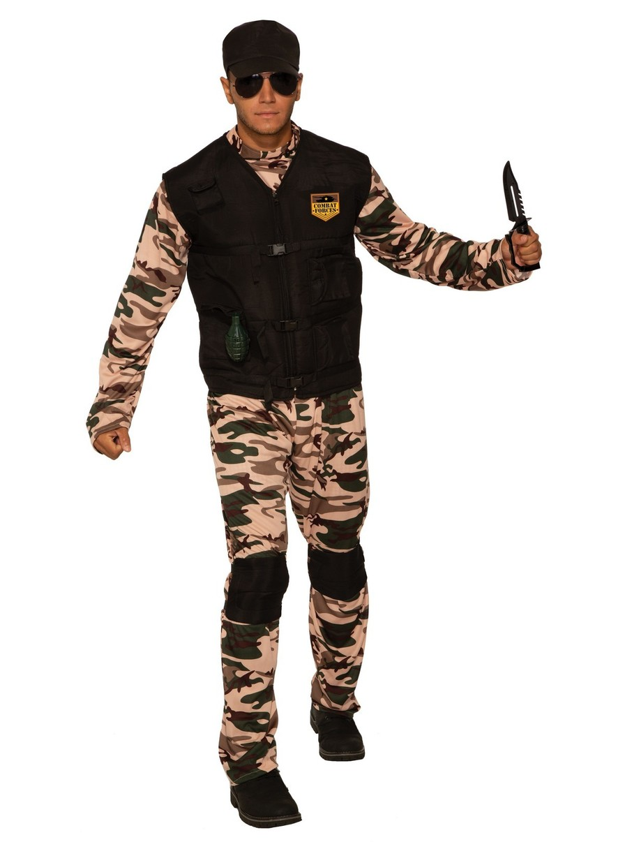 View larger image of Combat Soldier Costume for Men