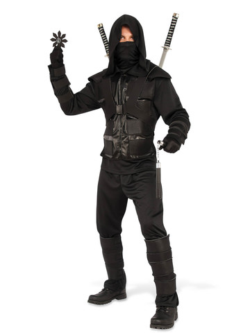 Dark Ninja Costume for Men
