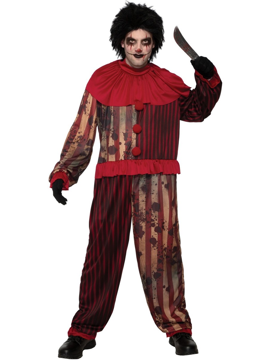 View larger image of Men's Evil Red Clown Costume