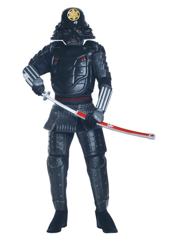 Darth Vader Samurai Costume for Men - Star Wars
