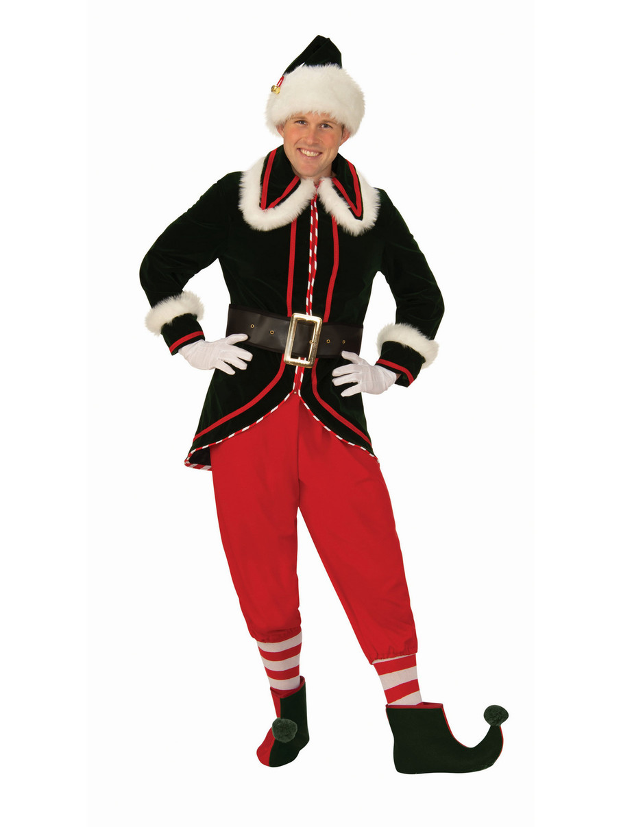 View larger image of Mens Deluxe Elf Costume