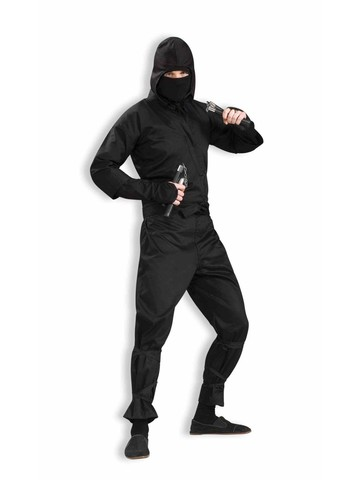 Extra Large Deluxe Ninja Costume for Men