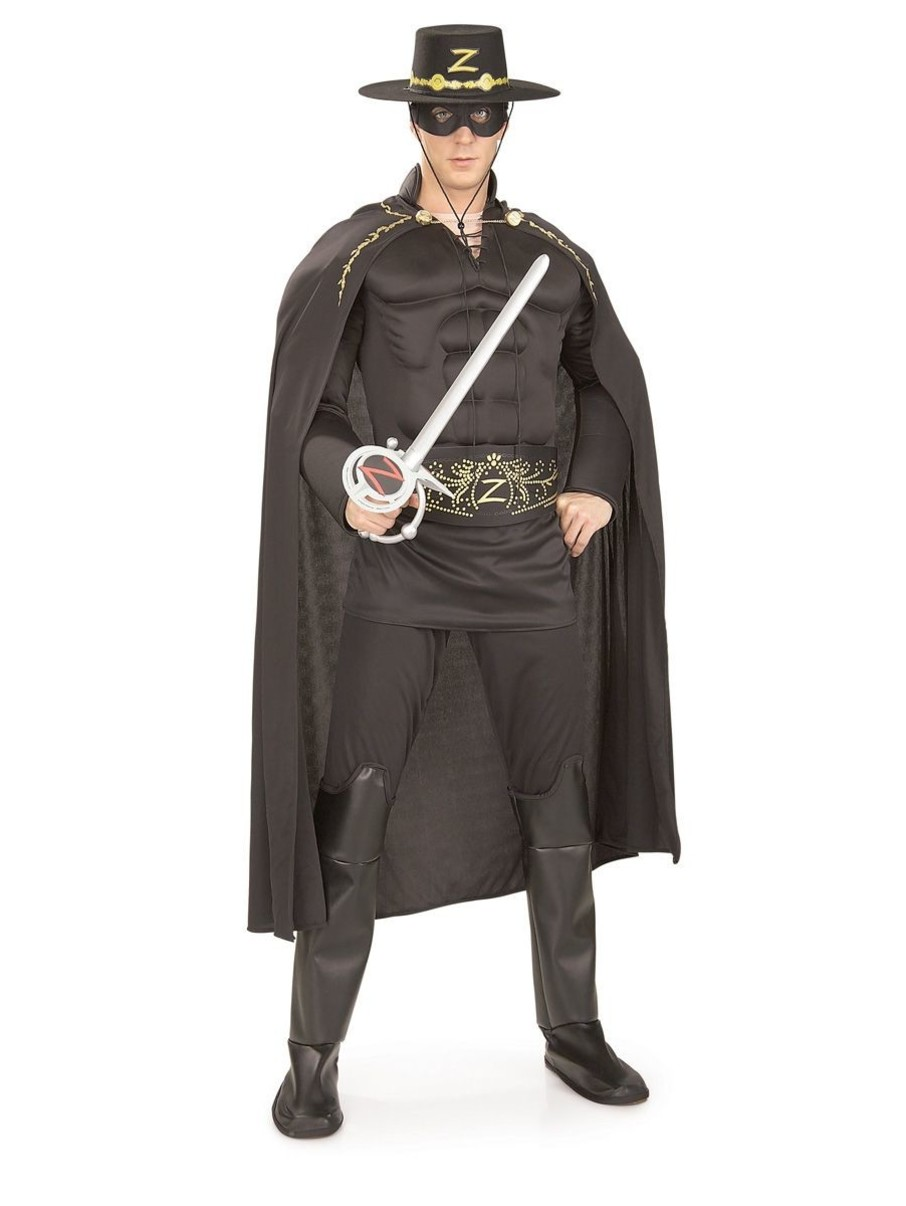 View larger image of Mens Deluxe Zorro Costume