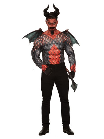 Devil Muscle Chest Shirt for Men