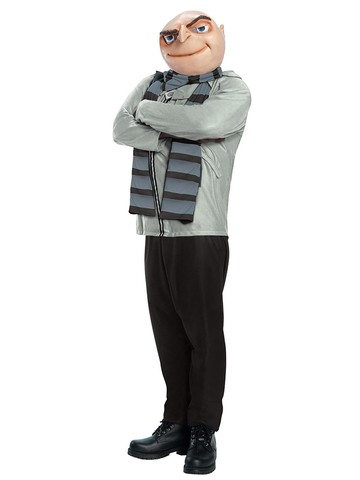 Mens Despicable Me Gru Adult Costume