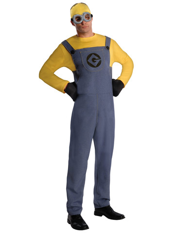Men's Despicable Me Minion Dave Costume
