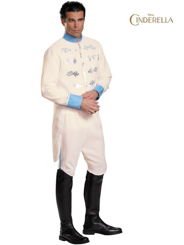 Mens Disney's Cinderella Movie Prince Deluxe Costume