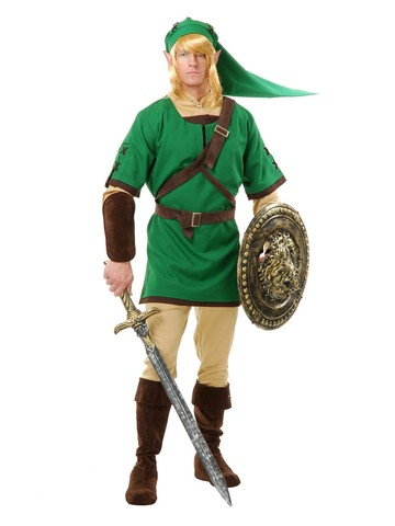 Men's Elf Warrior Costume