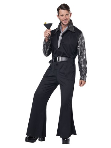 70's Flashy Style Jumpsuit Costume for Men