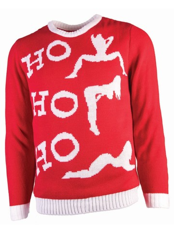 Mens Ho Ho Ho Christmas Sweater