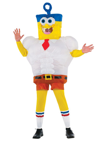 Inflatable Invincibubble SpongeBob Costume for Adults