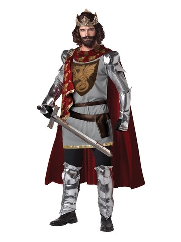 Mens King Arthur Adult Costume