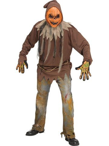 E.L. Light-Up Pumpkin Costume for Men