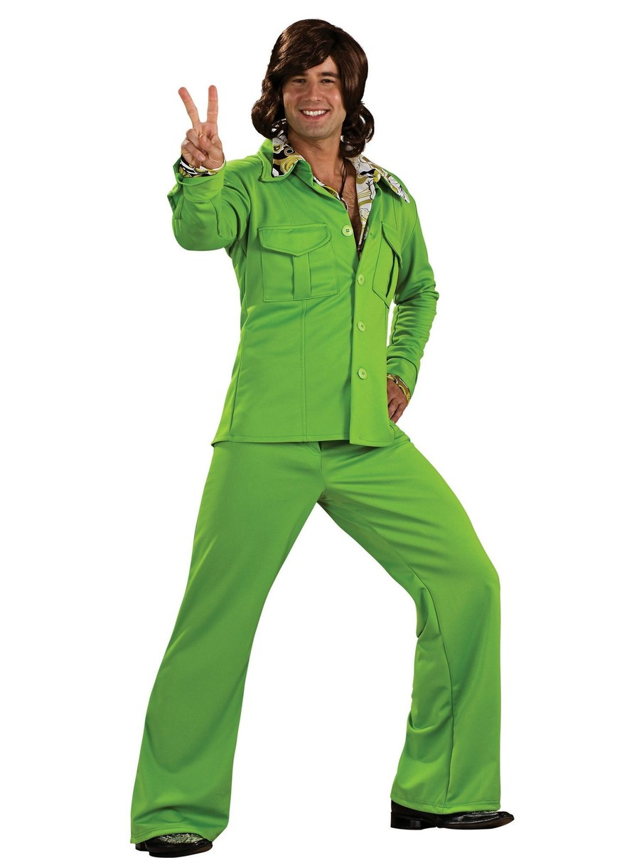 View larger image of Mens Lime Leisure Suit Costume