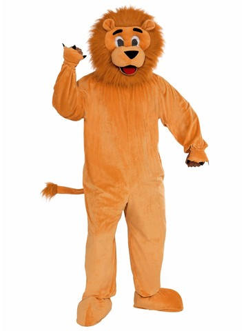 Mens Lion Mascot Costume