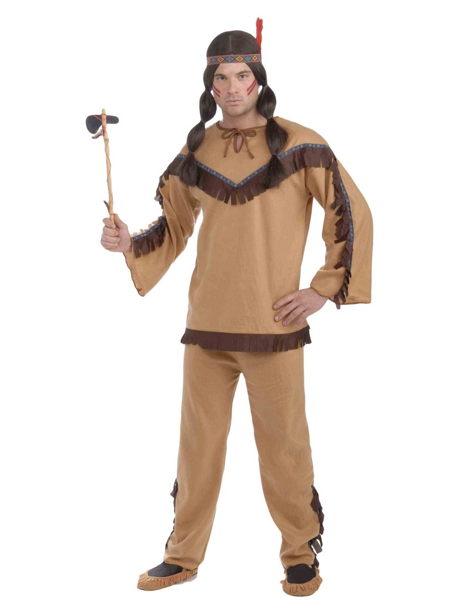 View larger image of Native American Brave Costume For Men