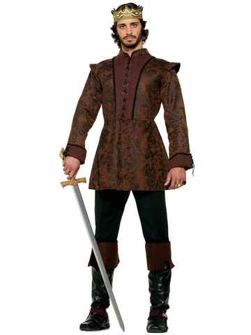 Mens Ole Kings Coat Costume