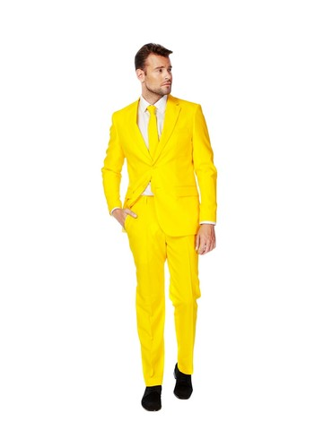 Mens OppoSuits Yellow Fellow Suit