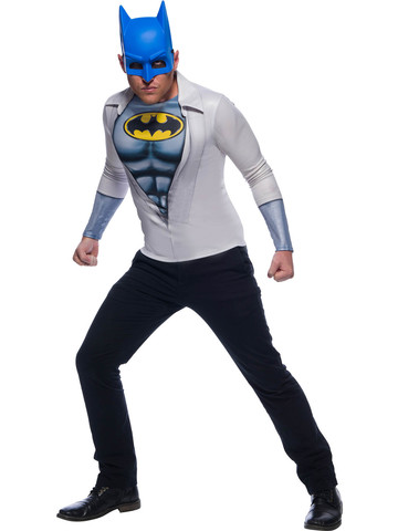 Adult Photo Real Batman Costume Top