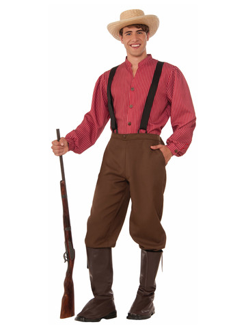 Mens Pioneer Man Costume