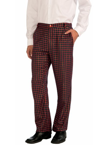 Plaid Christmas Pants