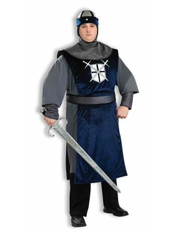 Mens Plus Size Crusader Costume