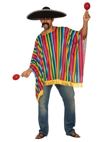 Poncho Costume for Men