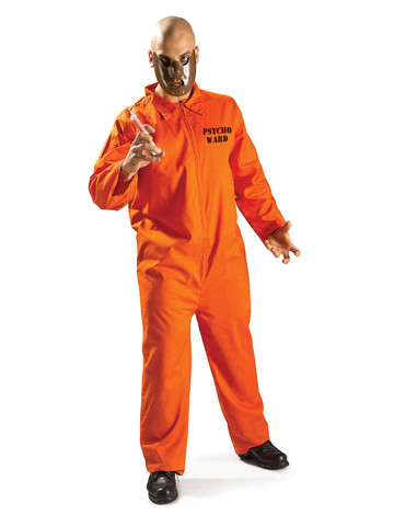 Psycho Inmate Adult Costume