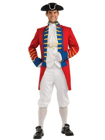 Regency Collection British Redcoat Adult Costume
