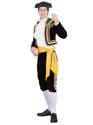 Mens Regency Collection Toreador Man Costume
