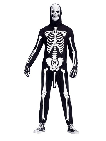 Mens Skele-boner Costume