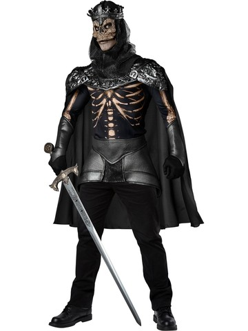 Mens Skeleton King Adult Costume