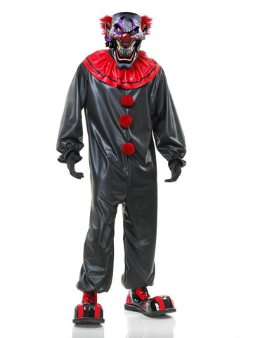 Men's Smokin Joe The Evil Clown Costume
