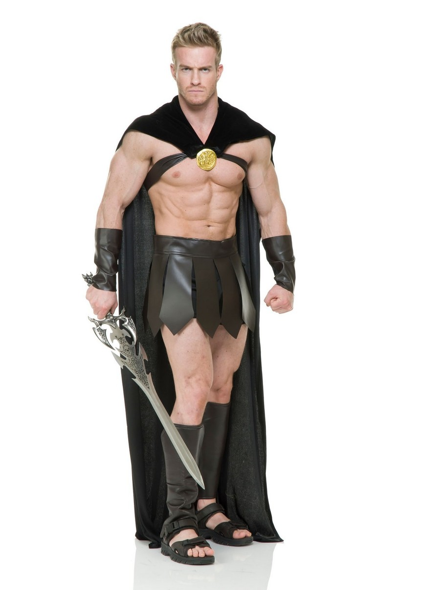 View larger image of Men's Spartan Warrior Costume