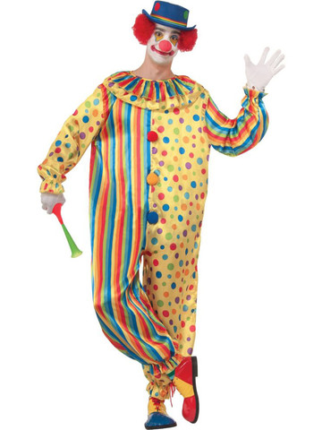 Mens Spots the Clown Costume