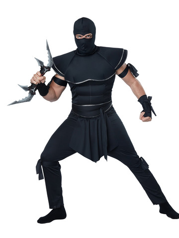 Men's Stealth Ninja Costume
