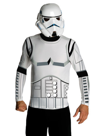 Men's Stormtrooper Top and Mask Set
