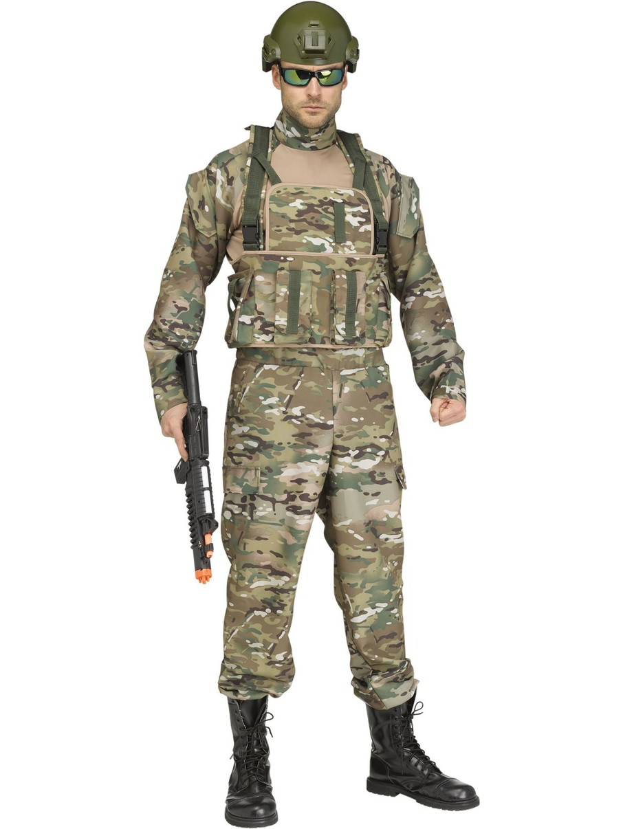 View larger image of Tactical Assault Commando Costume for Men