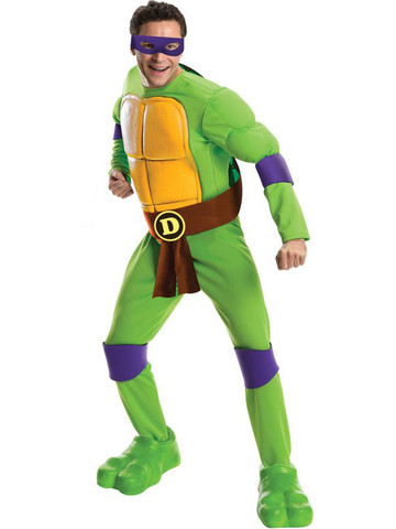 Mens Teenage Mutant Ninja Turtles Deluxe Donatello Costume