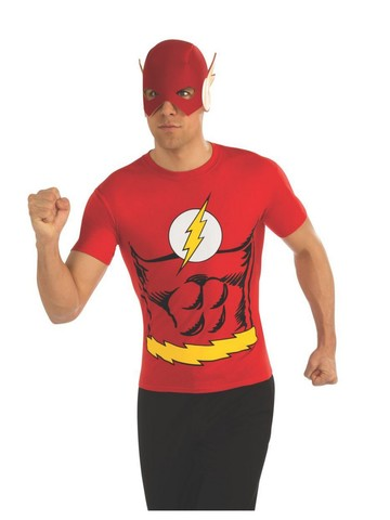 The Flash Costume Top for Men