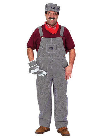 Mens Train Engineer Costume