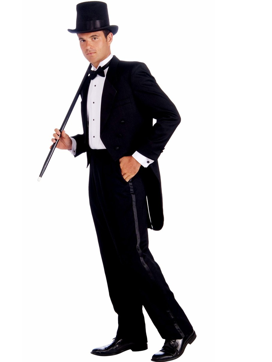 View larger image of Mens Vintage Hollywood Tuxedo Adult Costume