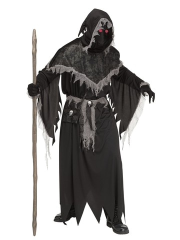 Men's Creepy Warlock Costume