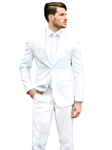 Mens White Knight OppoSuit