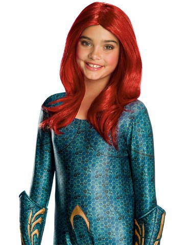 Aquaman Movie Mera Kids Wig