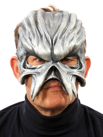 Metal Head Half Mask One Size