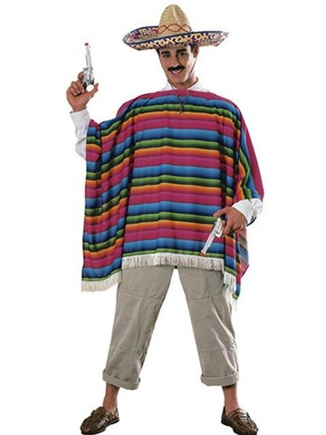 Serape Adult Costume